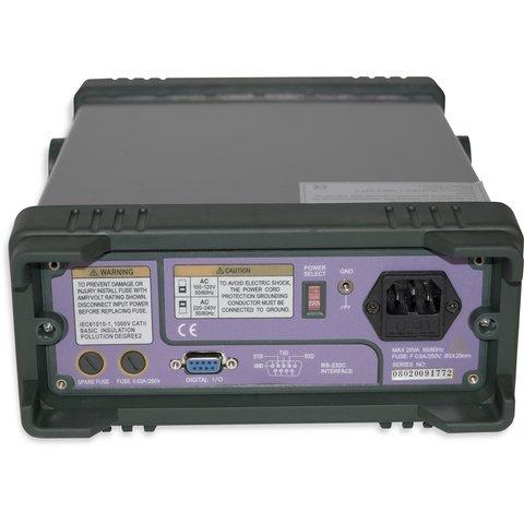 Профессиональный цифровой мультиметр MASTECH MS8050 Превью 2