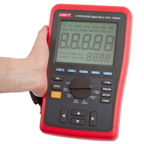 Digital Micro Ohm Meter UNI-T UT620B Preview 4