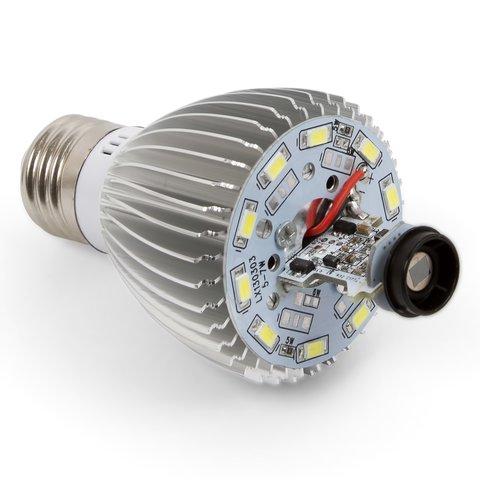 LED Light Bulb 5 W with IR Motion Sensor (cold white, 450 lm, E27) Preview 2