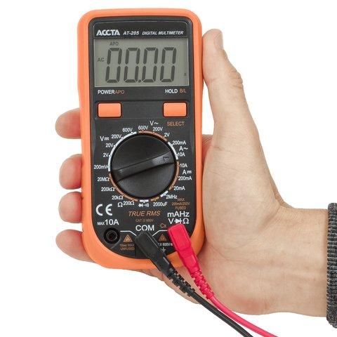 Digital Multimeter Accta AT-205 Preview 4